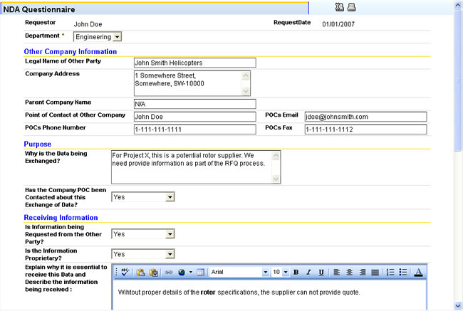 Details of application for NDA exam?